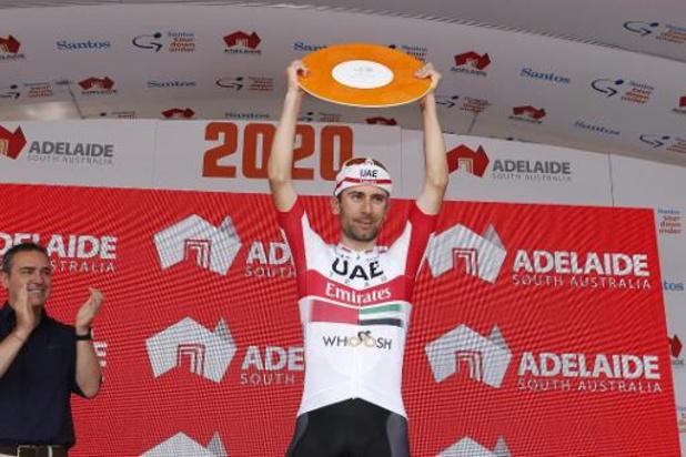 Diego Ulissi wint tweede etappe, Filippo Ganna behoudt roze