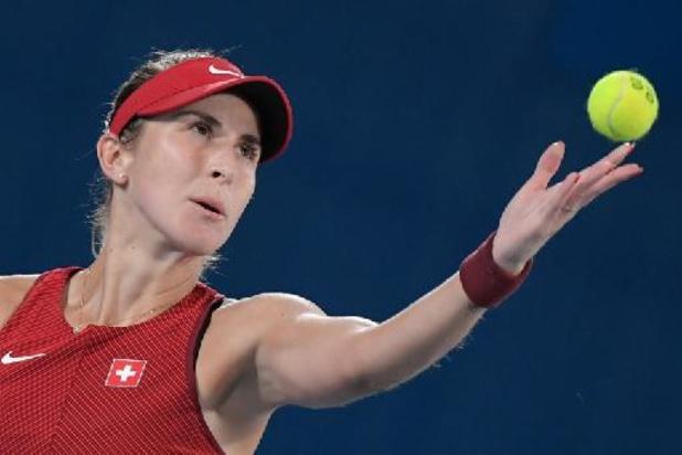 Belinda Bencic s'offre la médaille d'or en simple dames contre Marketa Vondrousova