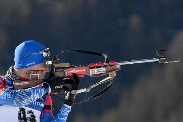 Championnats du monde de biathlon - Loginov sacré champion du monde de sprint, Florent Claude 34e