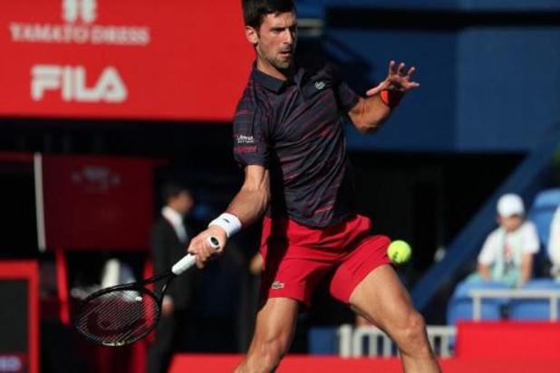 Novak Djokovic staat er opnieuw na opgave op US Open