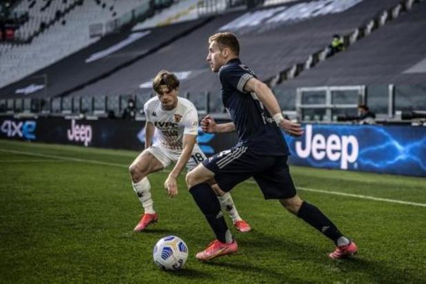 Daam Foulon en Benevento stunten tegen Juventus