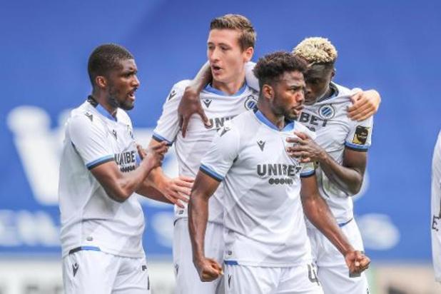 Le Club de Bruges prend les trois points sur la pelouse du KRC Genk
