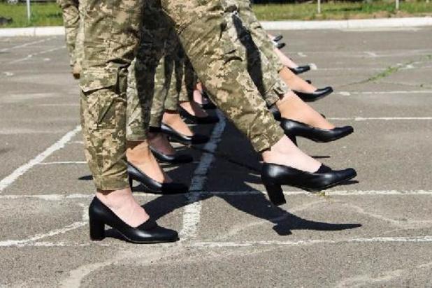 Escarpins pour femmes soldats: un tollé éclate en Ukraine