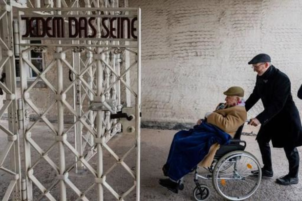 Hommage virtuel pour les 75 ans de la libération du camp de Buchenwald