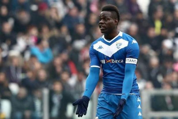 """Brescia boos op Balotelli: """"Schandelijke laster"""""""