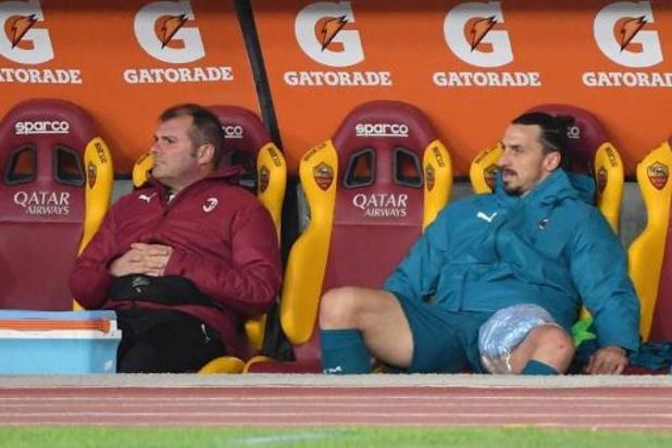 AC Milan dreigt het tijdje zonder Ibrahimovic te moeten stellen