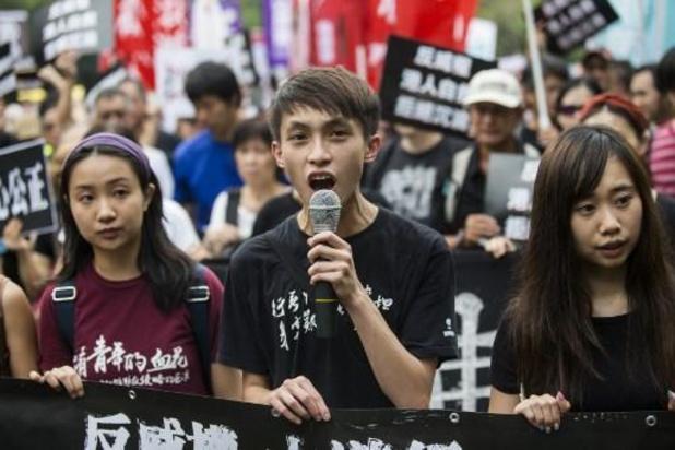 Leiders van protestbetogingen in Hongkong aangehouden