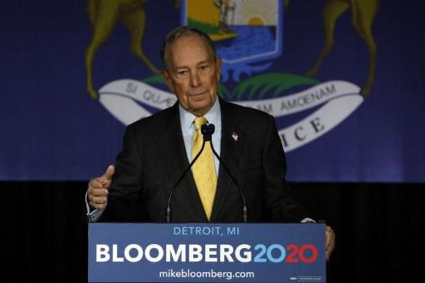 Presidentsverkiezingen VS - Twitter blokkeert 70 betaalde pro-Bloomberg-accounts die berichten copy-pasten