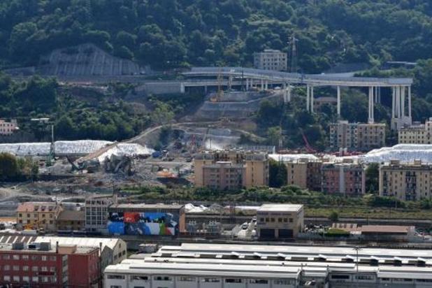 Effondrement d'un viaduc à Gênes - Trois personnes assignées à résidence en lien avec l'écroulement du pont de Gênes