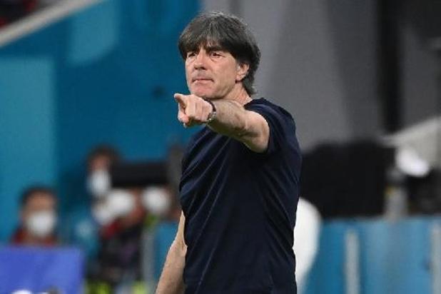 """Euro 2020 - Joachim Löw, sélectionneur allemand, """"ne peut faire aucun reproche"""" à ses joueurs"""