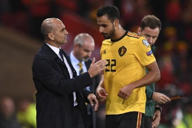Euro 2020 - Nacer Chadli pourrait encore rejoindre les Diables Rouges à Séville dimanche