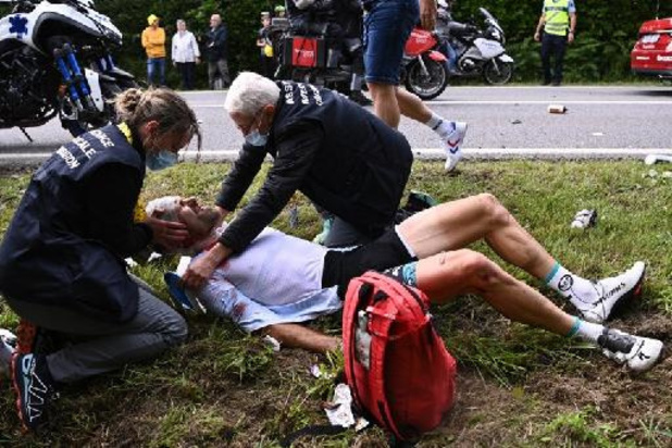 Tour de France - Pneumothorax pour Lemoine, incertitude pour Hirschi