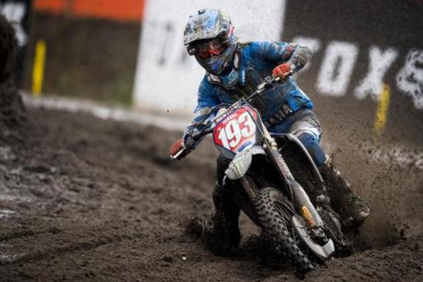 Jago Geerts wint Grote Prijs in de MX2