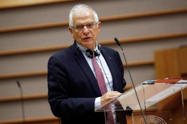 Le prochain paquet de sanctions en Bélarus inclura Alexandre Loukachenko, confirme M. Borrell
