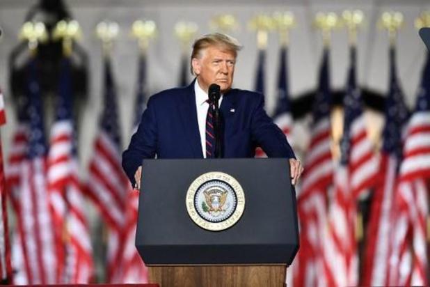 Amerikaanse presidentsverkiezingen - Trump aanvaardt nominatie als Republikeinse kandidaat