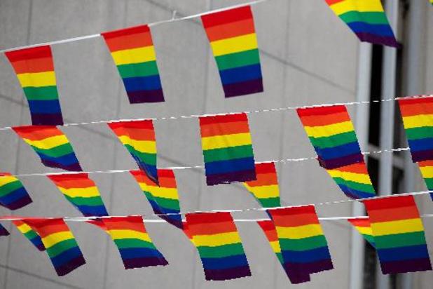 """Manifestation LGBTQI+ à Namur : """"l'homophobie tue encore en 2021"""""""