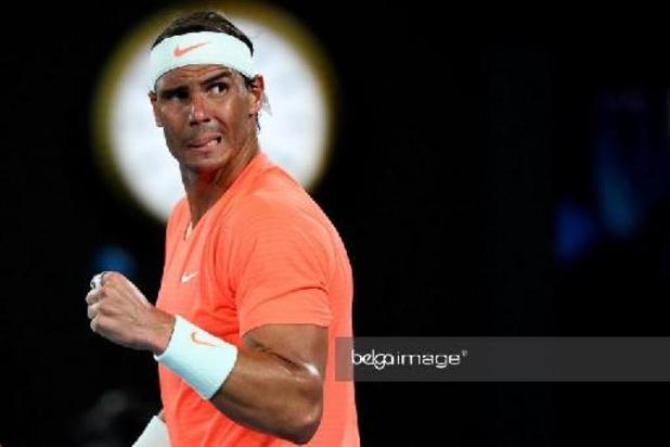 Rafael Nadal geeft ook forfait voor ATP Dubai