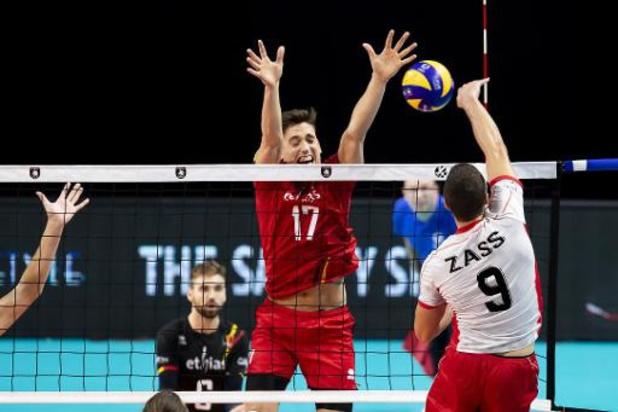 Euro de volley (m) - Grande déception pour Tomas Rousseaux