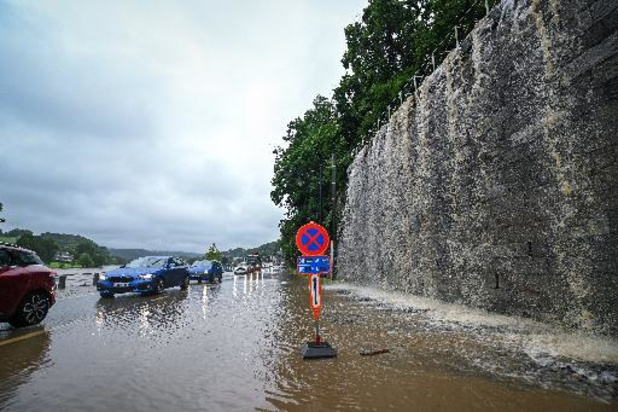 La situation se stabilise en province de Namur