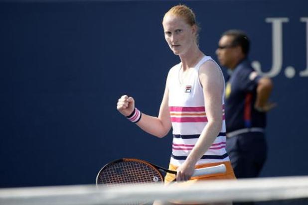 """WTA Tashkent - Quatre finales, 4 titres et 44e place pour Van Uytvanck: """"Je me suis toujours accrochée"""""""