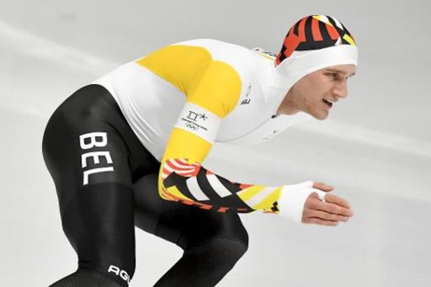 Mathias Vosté scherpt in Calgary Belgisch record 1.000m aan