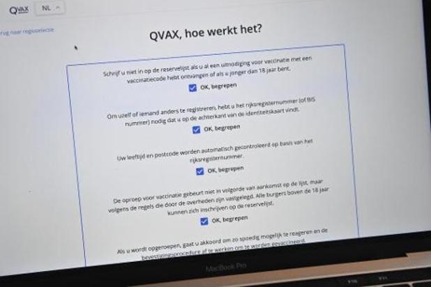 Boekingssysteem voor vaccinatie in Wallonië, Antwerpen en Gent opnieuw plat