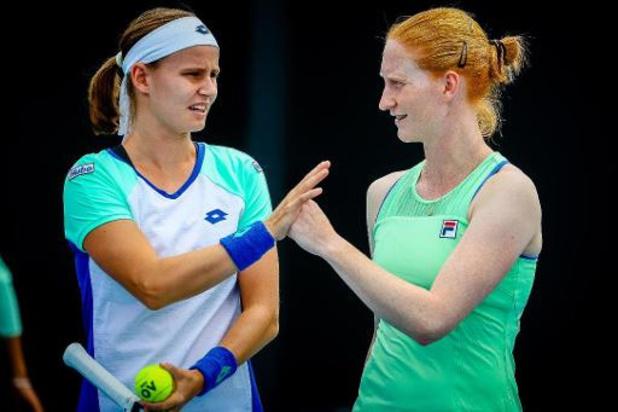 Van Uytvanck et Minnen ont tranché: elles disputeront l'US Open