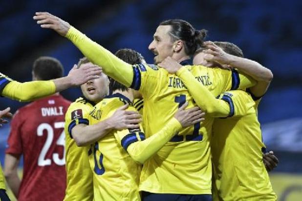 """Qualifications Mondial 2022 - """"Une sensation incroyable"""" pour Ibrahimovic, de retour avec la Suède"""