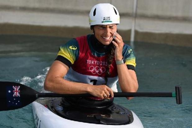 Canoë slalom aux JO : Sacrée, l'Australienne Jessica Fox complète sa collection de métaux