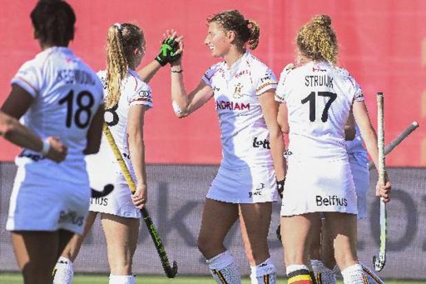 Hockey Pro League - Nouveau succès des Red Panthers (6-1) face aux Etats-Unis à Anvers
