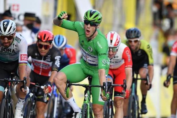 Deceuninck-QuickStep visera les victoires d'étapes avec Sam Bennett
