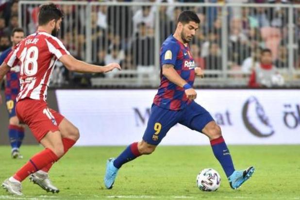 Opéré du ménisque, Luis Suarez (FC Barcelone) sera absent quatre mois