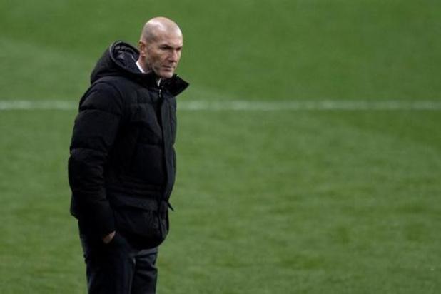 Zidane neemt verantwoordelijkheid voor blamage Real Madrid