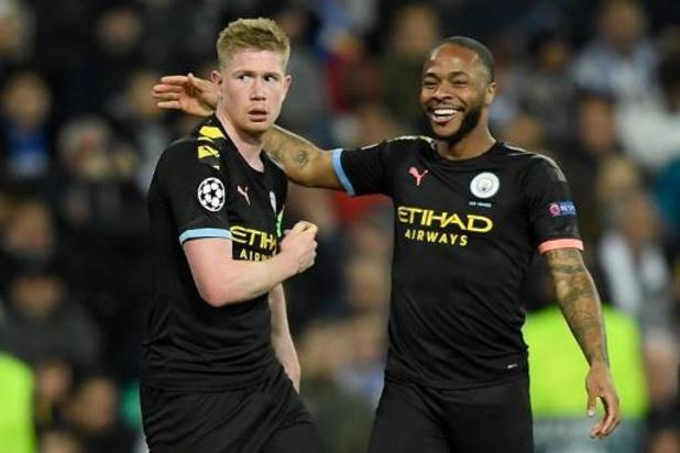 Belgen in het buitenland - De Bruyne trapt City naar uitstekende uitgangspositie (1-2), Lyon klopt Juventus