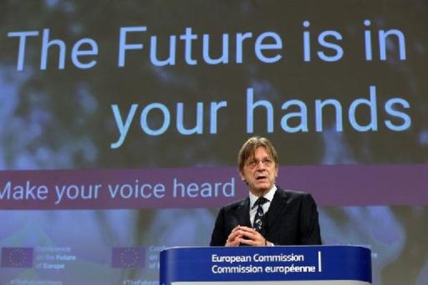 Cinq eurodéputés belges dans la Conférence sur l'avenir de l'Europe
