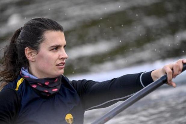 Les kayakistes belges peuvent travailler dans un grand bassin à Ostende en vue de Tokyo