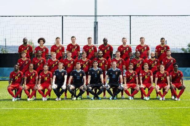 Les Diables Rouges ont pris la pause pour la photo officielle