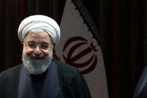 """Iraanse president is """"zeer blij"""" met vertrek van Trump"""