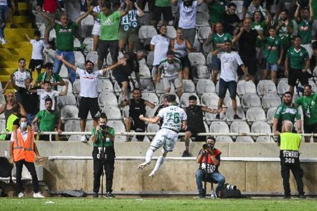 Europa League - L'Antwerp battu 4-2 à Omonia Nicosie en barrage