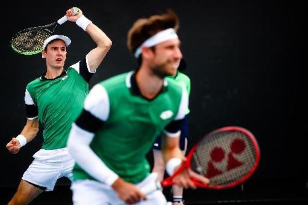 """ATP Munich - Gille et Vliegen, battus en finale : """"Nos adversaires peuvent remercier la pluie"""""""
