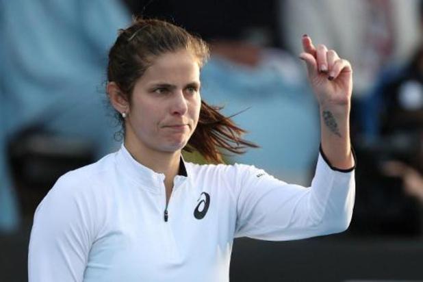 Battue par Goerges, Minnen regrette de ne pas avoir remporté le deuxième set