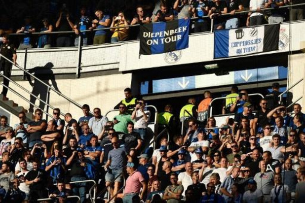 "Le Club Bruges condamne le comportement des ""soi-disant supporters"" à Madrid"