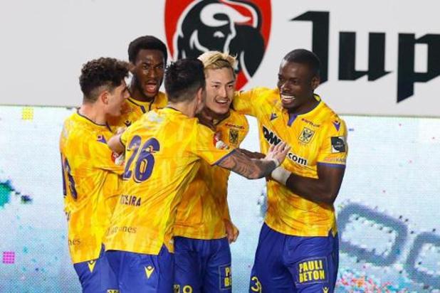 Jupiler Pro League - Troisième succès de rang pour Saint-Trond, qui enfonce le Beerschot