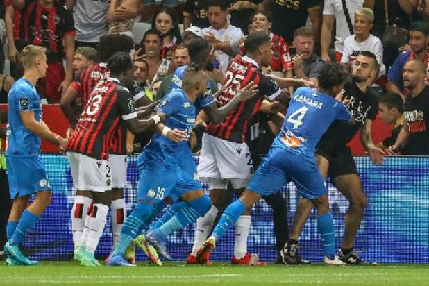 Ligue 1 - Incidents Nice-OM: un membre du staff de l'OM suspendu, Nice-Bordeaux à huis clos samedi