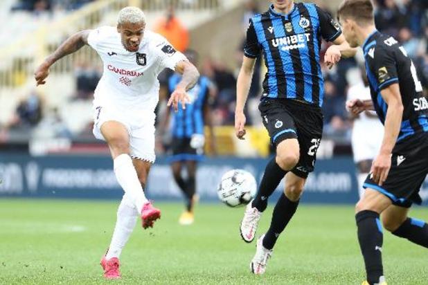 Anderlecht doit confirmer son retour dans le Top 4 face au Club de Bruges
