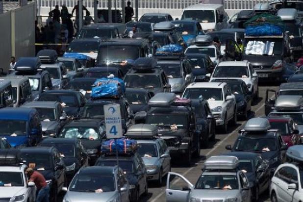 Début de week-end rouge sur les routes belges