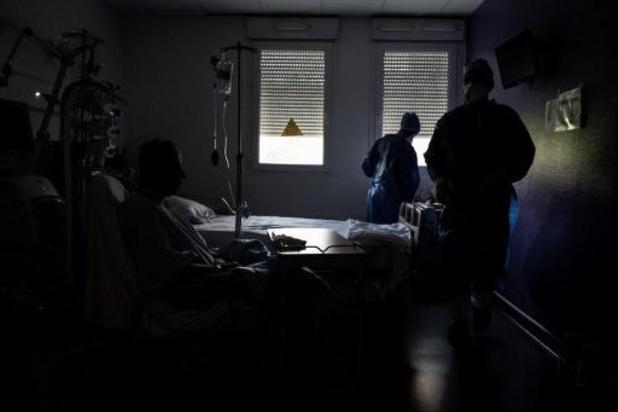 Le nombre de patients hospitalisés retrouve son niveau d'il y a une semaine