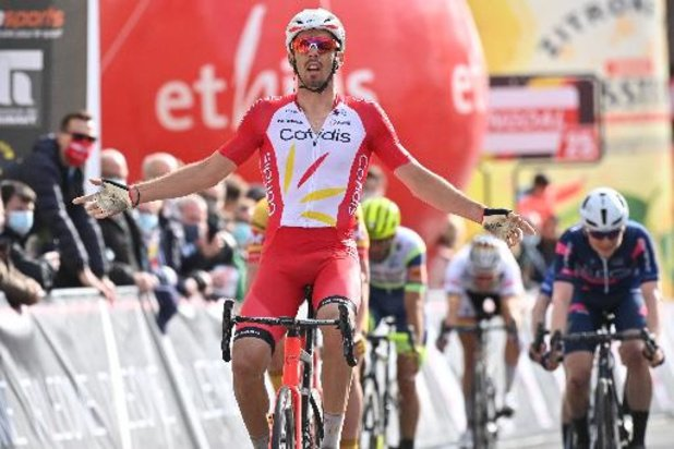 Circuit de Wallonie - Christophe Laporte (Cofidis) s'impose au sprint
