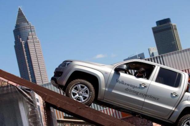 VW roept wereldwijd 200.000 pick-ups van model Amarok terug, reservewiel kan loskomen