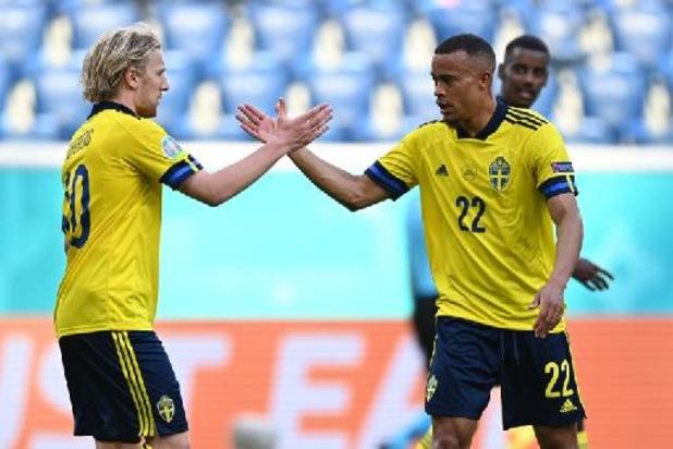 Zweden wint met kleinste verschil van Slovakije